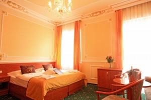 Kuren in Tschechien: Wohnbeispiel im Hotel Bajkal in Franzensbad Frantiskovy Lazne
