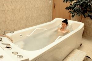 Kuren in Tschechien: Behandlungsabteilung im Hotel Bajkal in Franzensbad Frantiskovy Lazne