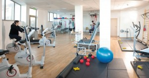 Kuren in Polen: Fitnessraum im Sanatorium in Kolberg Kolobrzeg Ostsee Polen
