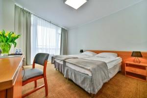 Kuren in Polen: Zimmerbeispiel im Sanatorium in Kolberg Kolobrzeg Ostsee Polen