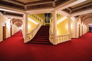 Kuren in Tschechien: Innenbereich des Kurhaus Beethoven in Bad Teplitz Lázne Teplice