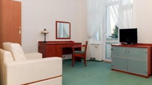 Kuren in Polen: Wohnbeispiel im Kurhotel Diament in Kolberg Kolobrzeg
