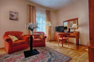 Kuren Polen: Zimmerbeispiel im Hotel Caspar in Bad Warmbrunn Cieplice Zdrój
