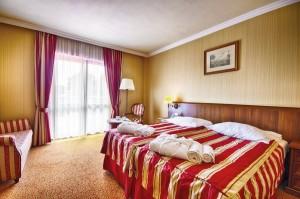 Kuren in Polen: Weiteres Wohnbeispiel im Hotel Delfin Spa und Wellness in Neuwasser Dabki Ostsee