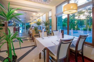 Kuren in Polen: Bar des Hotel Delfin Spa und Wellness in Neuwasser Dabki Ostsee