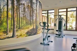 Kuren in Polen: Fitnessraum des Hotel Delfin Spa und Wellness in Neuwasser Dabki Ostsee
