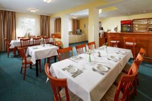 Kuren in Tschechien: Speiseraum des SPA Hotel Devin Marienbad