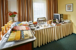 Kuren in Tschechien: Bufett im SPA Hotel Devin Marienbad