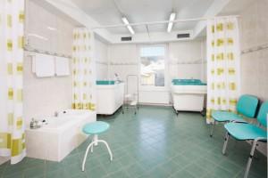 Kuren in Tschechien: weitere Ansicht Behandlungsraum im SPA Hotel Devin Marienbad