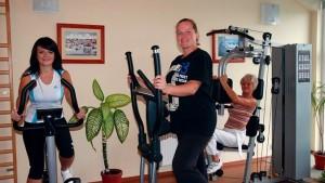 Kuren in Polen: Fitnessraum des Kurhotel Diament in Kolberg Kolobrzeg