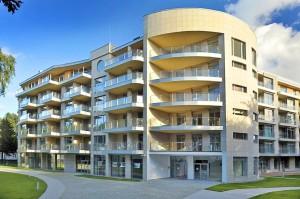Kuren in Polen: Außenansicht vom Diune Hotel & Resort Kolberg Kolobrzeg Polen