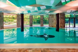 Kuren in Polen: Schwimmbad vom Diune Hotel & Resort Kolberg Kolobrzeg Polen