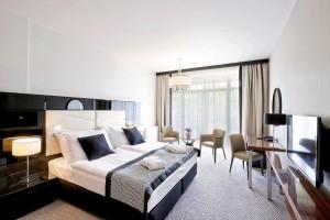 Kuren in Polen: Zimmeransicht im Diune Hotel & Resort Kolberg Kolobrzeg Polen