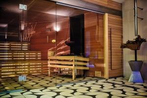 Kuren in Polen: Sauna des Diune Hotel & Resort Kolberg Kolobrzeg Polen