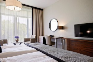 Kuren in Polen: Zimmeransicht 3 im Diune Hotel & Resort Kolberg Kolobrzeg Polen