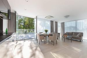 Kuren in Polen: Weitere Zimmeransicht im Aparthotel Dune Beach Resort Großmöllen Mielno Polen