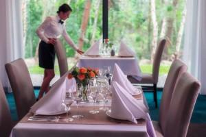 Kuren in Polen: Restaurant im Hotel Ewerdin Swinemünde Swinoujscie