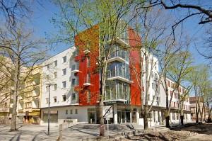 Kuren in Tschechien: Außenansicht des Kurhotel Felicitas in Podebrady Podiebrad