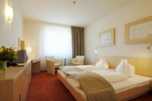 Kuren in Tschechien: Wohnbeispiel im Kurhotel Felicitas in Podebrady Podiebrad