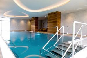 Kuren in Tschechien: Schwimmbad im Kurhotel Felicitas in Podebrady Podiebrad