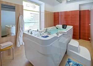 Kuren in Tschechien: Behandlungsabteilung im Kurhaus Goethe in Franzensbad Frantiskovy Lazne