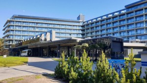 Kuren in Polen: Außenansicht vom Hotel Hamilton Conference Spa & Wellness Swinemünde