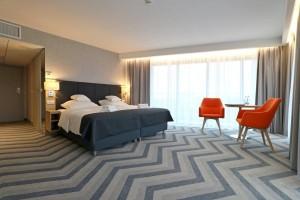 Kuren in Polen: Zimmerbeispiel im Hotel Hamilton Conference Spa & Wellness Swinemünde