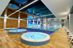 Kuren in Polen: Whirlpool des Hotel Hamilton Conference Spa & Wellness Swinemünde