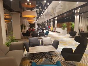 Kuren in Polen: Innenbereich des Hotel Hamilton Conference Spa & Wellness Swinemünde