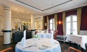 Kuren in Deutschland: Restaurant im Hotel Hanseatic in Göhren