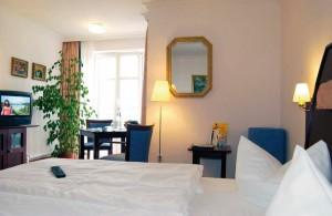 Kuren in Deutschland: Wohnbeispiel im Hotel Hanseatic in Göhren