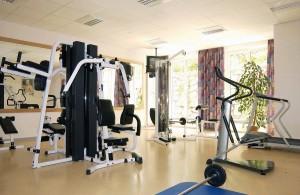Kuren in Deutschland: Fitnessraum des Hotel Hanseatic in Göhren