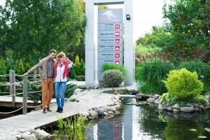 Kuren in Polen: Gelände des Gesundheits- und Erholungszentrum Ikar Plaza in Kolberg Kolobrzeg