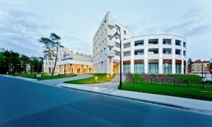 Kuren in Polen: Blick auf Interferie Medical SPA in Swinemünde