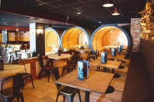 Kuren in Polen: Restaurant des Interferie Medical SPA in Swinemünde