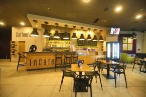 Kuren in Polen: Cafe des Interferie Medical SPA in Swinemünde