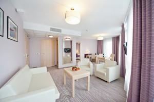 Kuren in Polen: Apartment Zimmeransicht im Interferie Medical SPA in Swinemünde