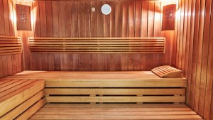 Kuren in Polen: Sauna im Hotel Jantar SPA Kolberg Kolobrzeg