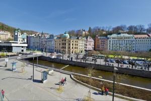 Kuren in Tschechien: Blick auf das EA Jessenius Hotel Karlsbad Karlovy Vary