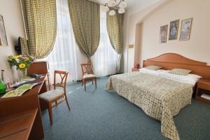 Kuren in Tschechien: Zimmeransicht im EA Jessenius Hotel Karlsbad Karlovy Vary
