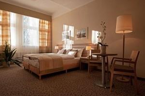 Kuren in Polen: Zimmeransicht im Hotel Kaisers Garten in Swinemünde