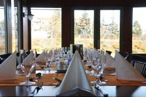 Kuren in Ungarn: Speiserestaurant des Hotel Karos SPA in Zalakaros