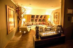 Kuren in Polen: Ruhebereich im Hotel Kormoran Rowy Rowe Polen
