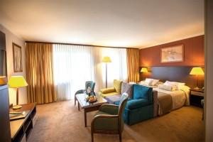 Kuren in Polen: Zimmerbeispiel im Hotel Kormoran Rowy Rowe Polen