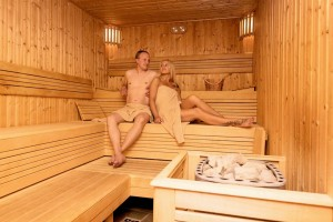 Kuren in Polen: Sauna des Hotel Lambert Medical SPA in Henkenhagen Ustronie Morskie