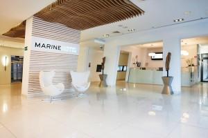 Kuren in Polen: Rezeption des Hotel Marine & Ultra Marine in Kolberg Kolobrzeg