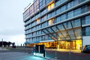 Kuren in Polen: Ansicht des Hotel Marine & Ultra Marine in Kolberg Kolobrzeg