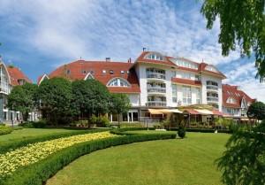 Kuren in Ungarn: Außenansicht vom MenDan Magic SPA & Wellness Hotel in Zalakaros