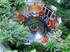 Kuren in Ungarn: Innenbereich des MenDan Magic SPA & Wellness Hotel in Zalakaros