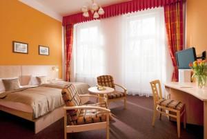 Kuren in Tschechien: weiteres Zimmerbeispiel im Kurhotel Metropol in Franzensbad Frantisvoky Lázne